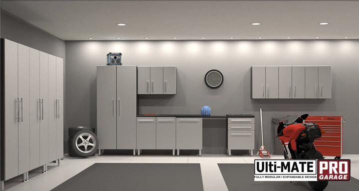 Austin Contemporary Garage Cabinets