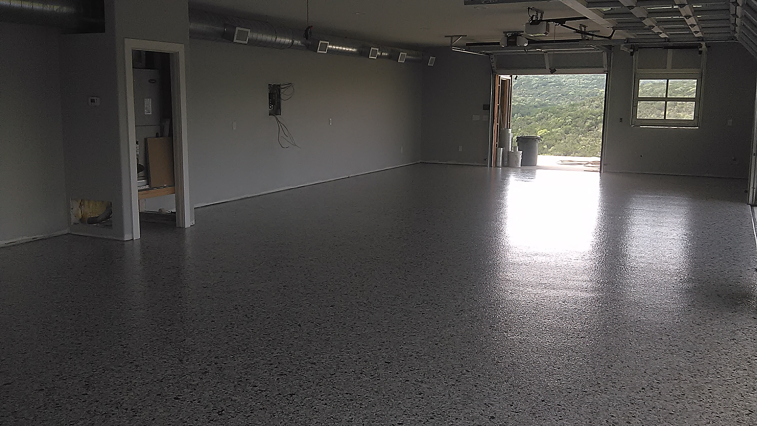 floor cincinnati epoxy coating garage reflective crete flooring by commercial services epoxyfloor