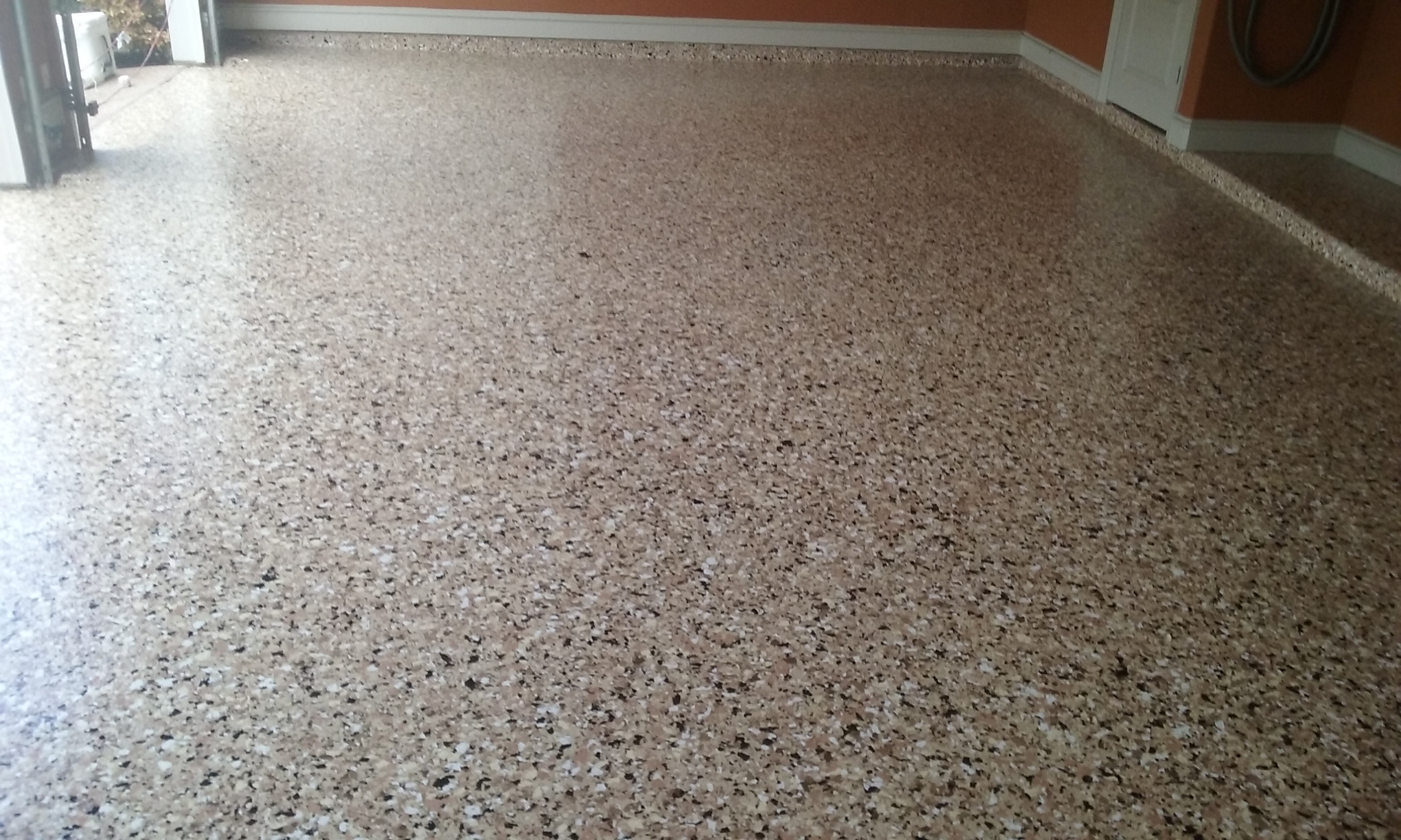garage epoxy flooring - How To Epoxy Garage Floor